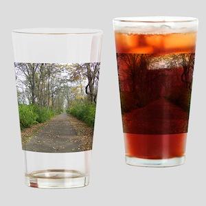 YellowSpringsBikeTrail Drinking Glass