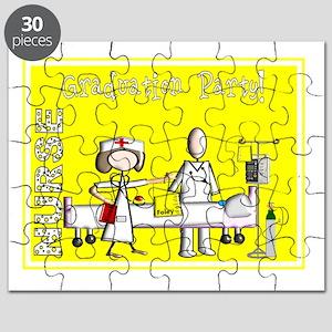 Nurse Graduation Party YELLOW November Puzzle
