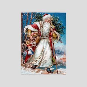 ! Santa 1 5'x7'Area Rug