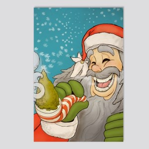 santa_notext Postcards (Package of 8)