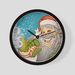 santa_notext Wall Clock