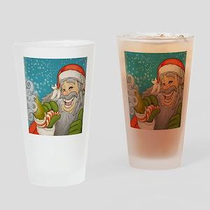 santa_notext Drinking Glass