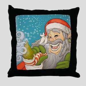 santa_notext Throw Pillow