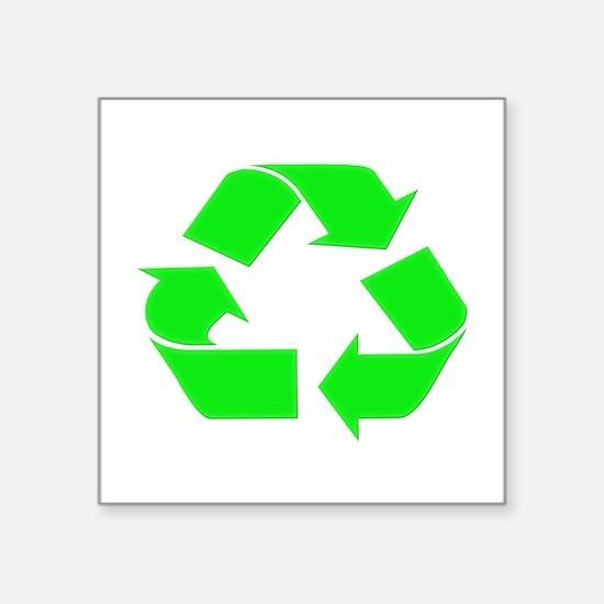 "Soylent Greendark Square Sticker 3"" x 3"""