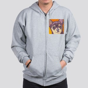 chihua large cafe Zip Hoodie