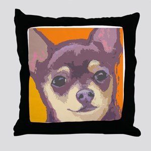 chihua large cafe Throw Pillow