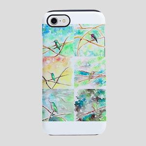 Hummingbird Watercolors 2 iPhone 7 Tough Case