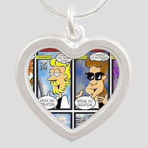 DAYSOFNOE Silver Heart Necklace