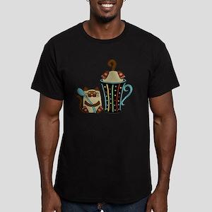siames-cffee-cp_mug Men's Fitted T-Shirt (dark)