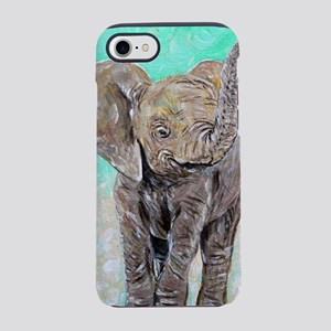 Baby Elephant iPhone 7 Tough Case