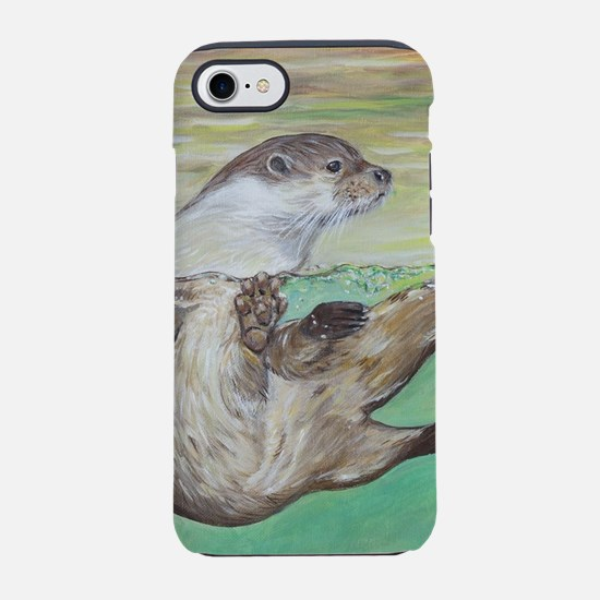 Playful River Otter iPhone 7 Tough Case