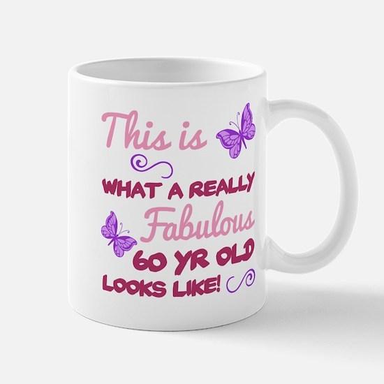 Fabulous 60th Birthday Mugs