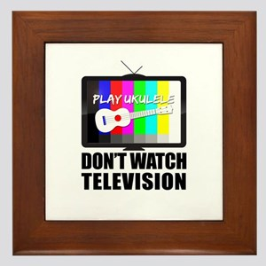 TitusFactory_DontWatchTV01b Framed Tile
