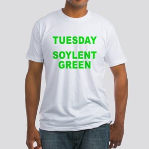 Tuesday dark Fitted T-Shirt
