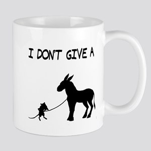 I Don't Give A Rat's Ass Large Mugs