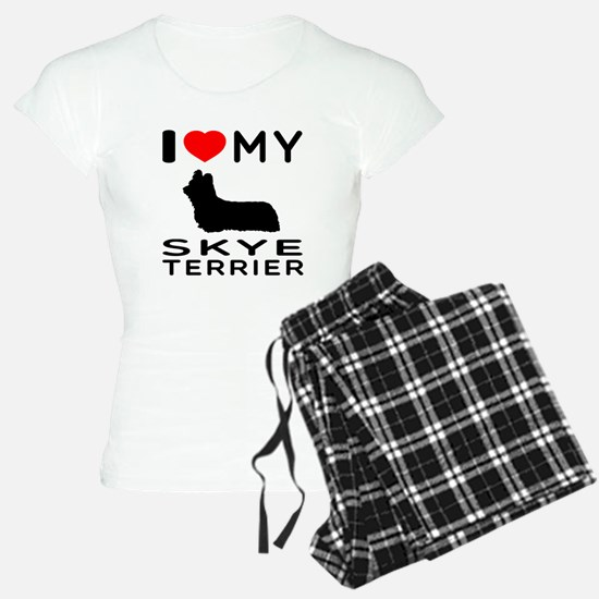 I love My Skye Terrier Pajamas