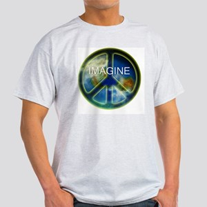 peace sightx2nfont copy Light T-Shirt