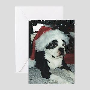 Santa BT Greeting Card