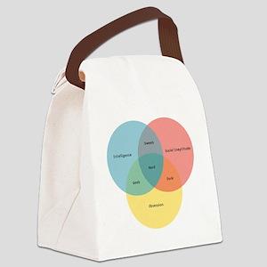 nerd-paradigm-solo Canvas Lunch Bag