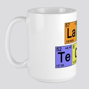 LaB TeCH color2 copy Large Mug