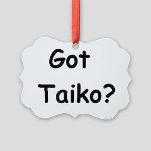 GotTaiko-square-big Picture Ornament