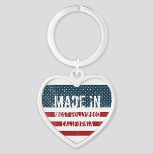 Made in West Hollywood, California Keychains