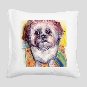 java Square Canvas Pillow