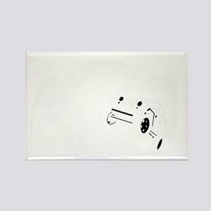 Volunteer Spotter WHITE Rectangle Magnet