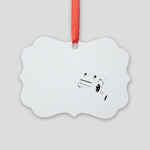 Volunteer Spotter WHITE Picture Ornament