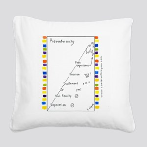 7 CP Adventurarchy Square Canvas Pillow