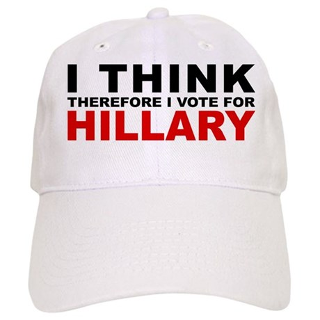 Vote For Hillary Cap