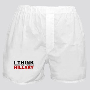 Vote For Hillary Boxer Shorts