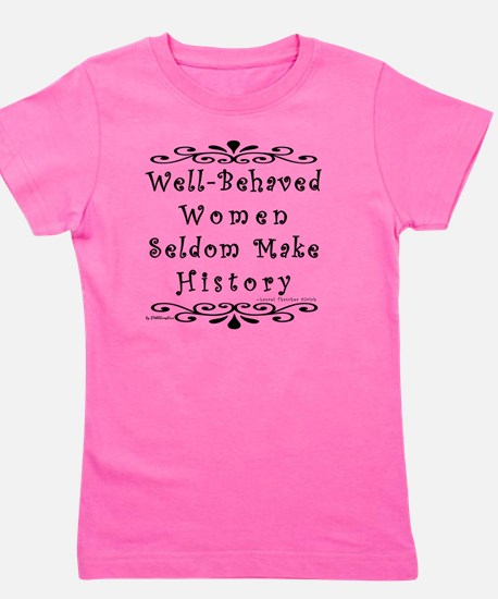 well-behaved-transparent Girl's Tee