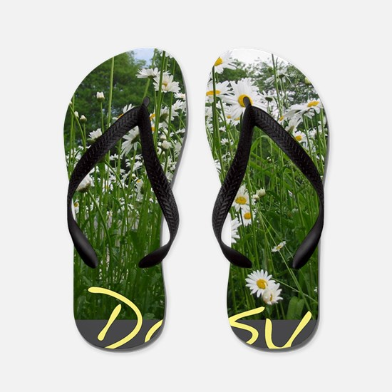 daisy23x35 Flip Flops