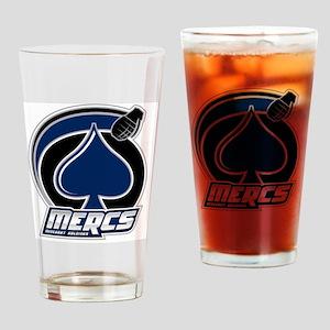 Mercs_Logo_10in Drinking Glass