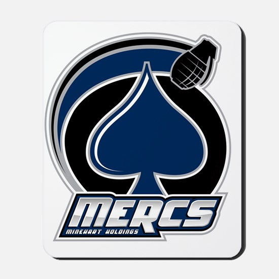Mercs_Logo_10in Mousepad