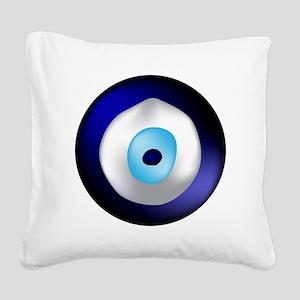 Evil Eye Square Canvas Pillow