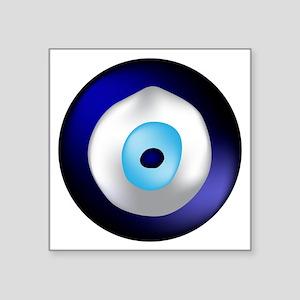 "Evil Eye Square Sticker 3"" x 3"""