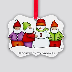 Gnomies Picture Ornament
