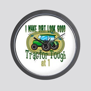 Tractor Tough 1st Wall Clock