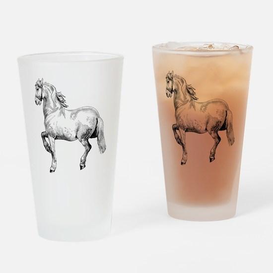 Horse Illustration3 - Copy Drinking Glass