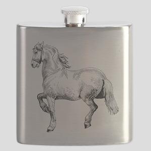 Horse Illustration3 - Copy Flask