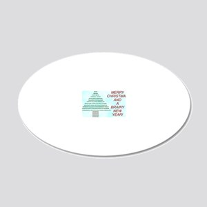 ccard4 20x12 Oval Wall Decal