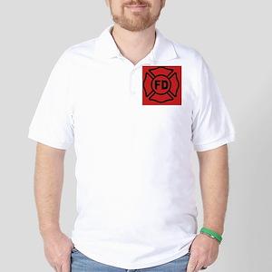 crossred2443_iphone_case Golf Shirt