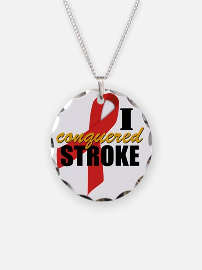 Stroke survivor gifts merchandise stroke survivor gift ideas iconqueredstroke necklace negle Choice Image