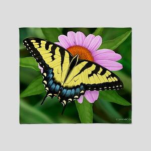 Swallowtail Throw Blanket