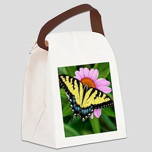 Swallowtail Canvas Lunch Bag