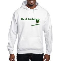 Real Irish Men Wear Kilts Hoodie