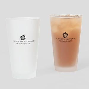 SPN Family Business Drinking Glass