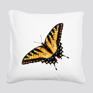 tigerSwallowtail45 Square Canvas Pillow